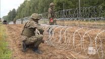 """""""Wydarzenia"""": Trzy kilometry na dobę. Polska w ekspresowym tempie buduje mur na granicy z Białorusią"""