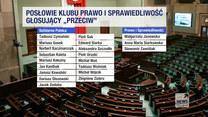 """""""Wydarzenia"""": W klubie PiS zabrakło jednomyślności w głosowaniu nad Funduszem Odbudowy"""