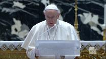 """""""Wydarzenia"""": Wielkanocne orędzie papieża na wyjątkowe czasy. """"Zapewnijmy szczepionki najuboższym"""""""