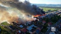 """""""Wydarzenia"""": Wielki pożar w Nowej Białej"""
