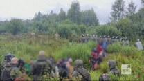 """""""Wydarzenia"""": Zmniejszyła się grupa koczujących przy granicy polsko-białoruskiej"""