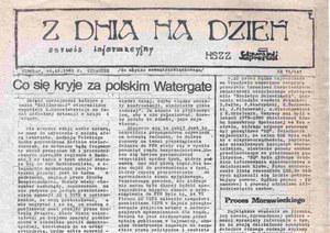 """""""Z Dnia na Dzień"""": Największa gazeta solidarnościowego podziemia"""