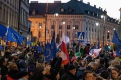 """""""Zostaję w Unii"""". Protest w Warszawie"""