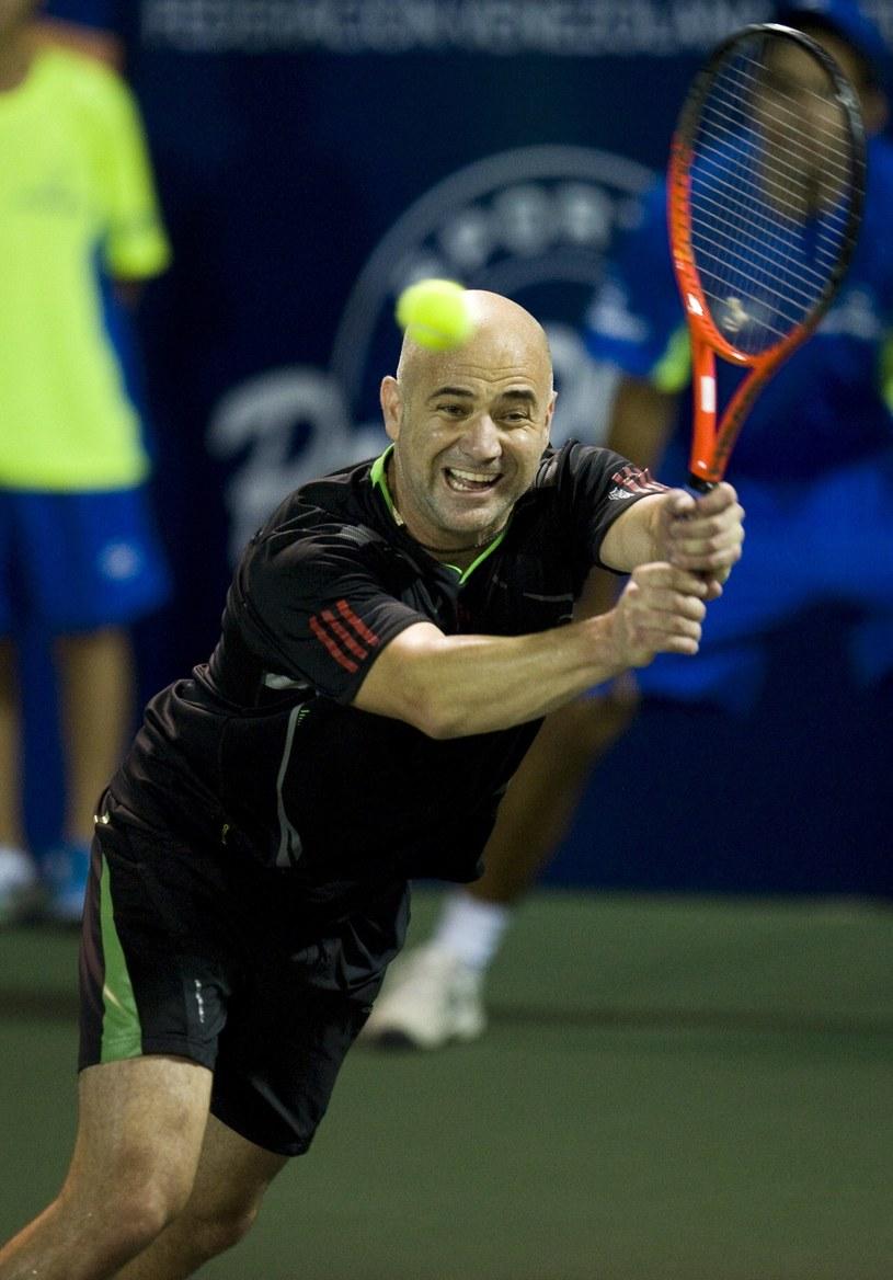 Andre Agassi /AFP
