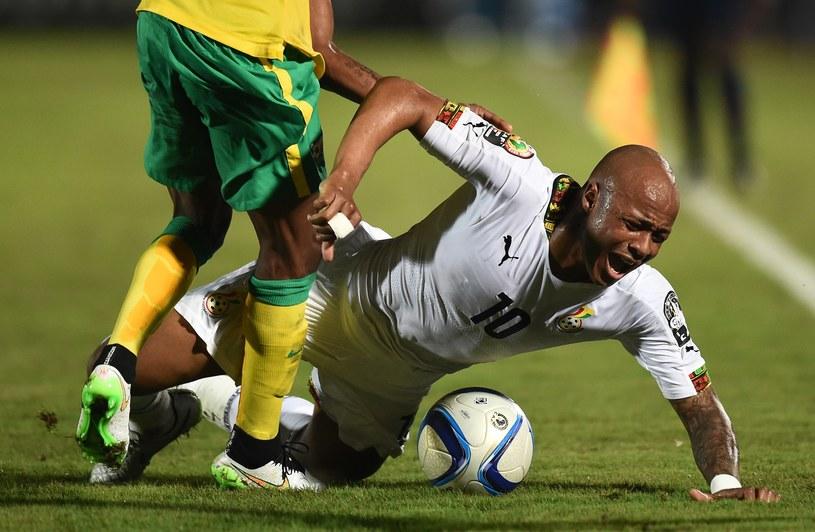 Andre Ayew zdobył zwycięskiego gola dla Ghany /AFP