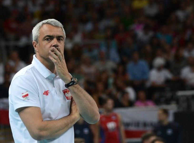 Andrea Anastasi (tu jeszcze jako trener reprezentacji Polski) /AFP