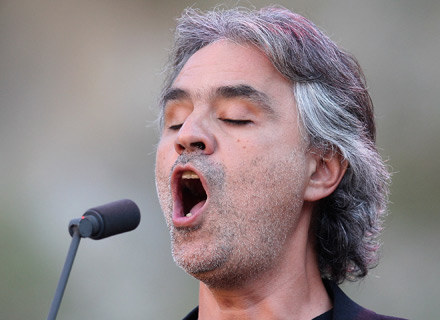 Andrea Bocelli - fot. Chris Jackson /Getty Images/Flash Press Media