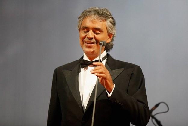 Andrea Bocelli - fot. Michelly Rall /Getty Images/Flash Press Media