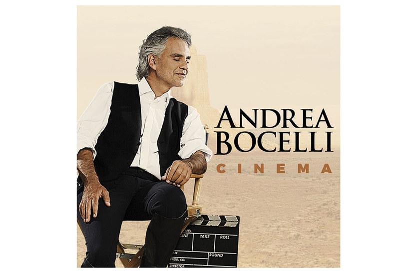 """Andrea Bocelli powraca z długo oczekiwanym albumem """"Cinema"""" /materiały prasowe"""