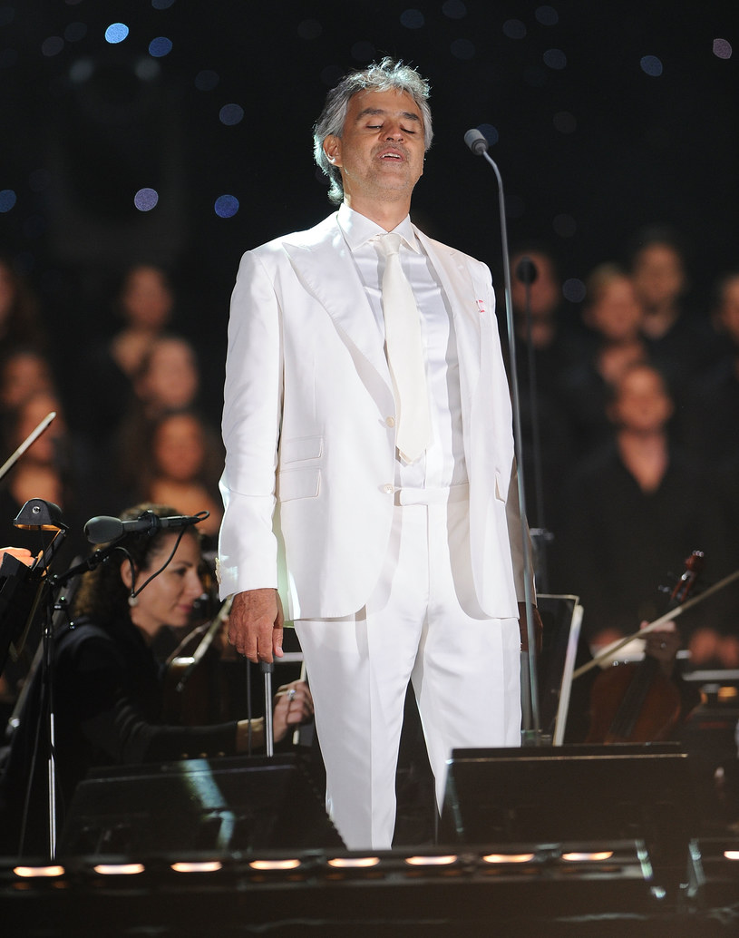 Andrea Bocelli /Getty Images