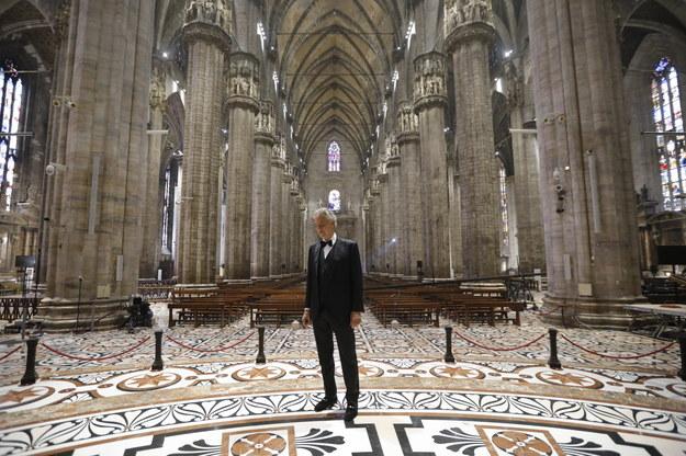 Andrea Bocelli /LUCA ROSSETTI / COURTESY SUGAR PRESS /PAP/EPA