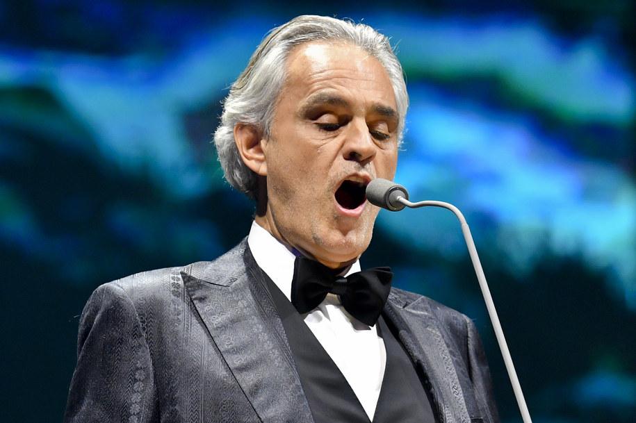 Andrea Bocelli /Vit Simanek    /PAP/CTK