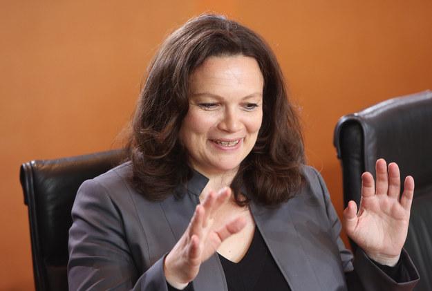 Andrea Nahles, minister pracy Niemiec /AFP