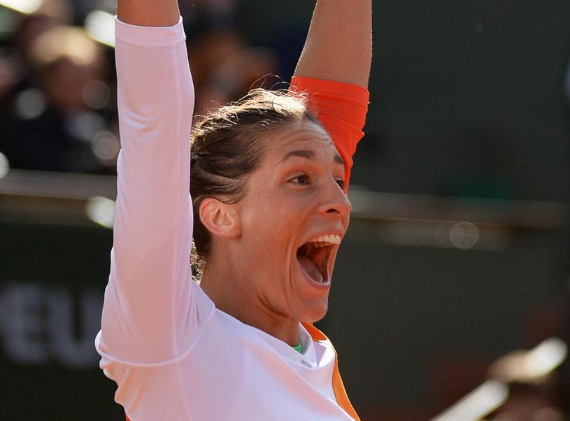 Andrea Petković po raz pierwszy w karierze awansowała do półfinału wielkoszlemowego turnieju /PAP/EPA