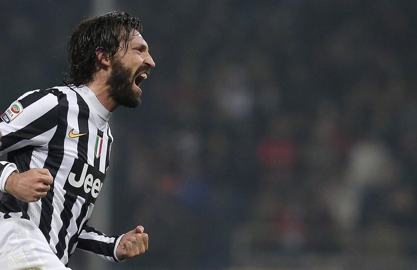 Andrea Pirlo, doświadczony piłkarz Juventusu Turyn /AFP
