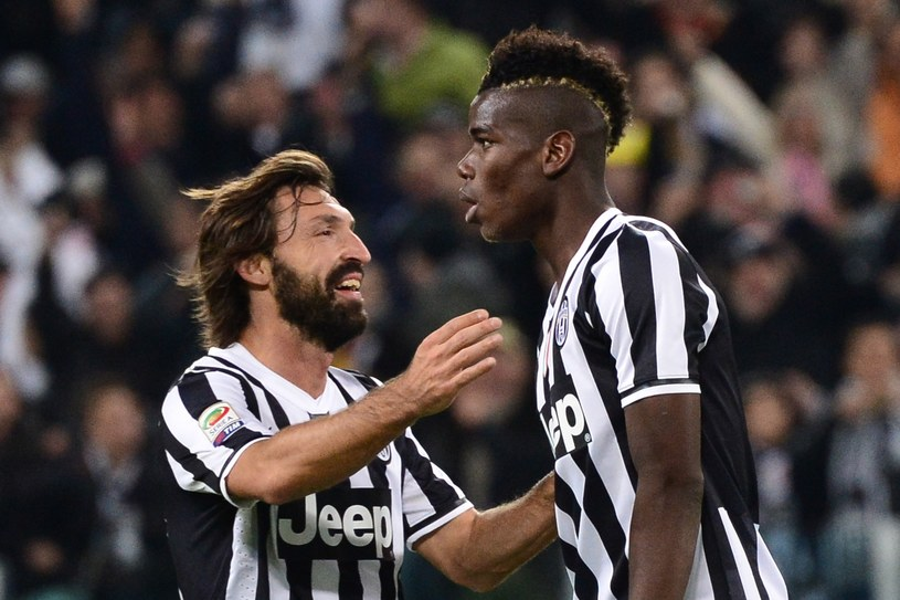 Andrea Pirlo i Paul Pogba /AFP