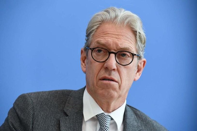 Andreas Gassen, szef ubezpieczeń zdrowotnych w Niemczech /AFP