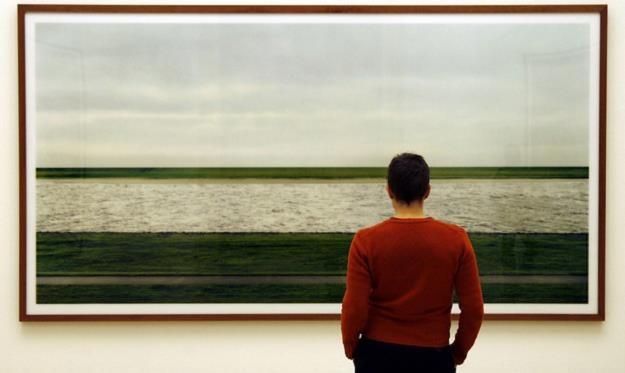 """Andreas Gursky  """"Rhein II"""" /AFP"""
