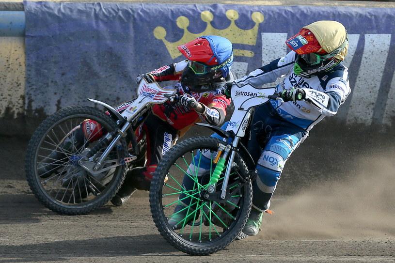 Andreas Lyager kontra Peter Ljung /Jarosław Pabijan /Newspix
