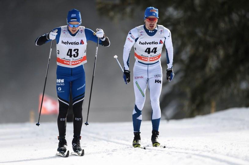 Andreas Veerpalu (z lewej) /AFP