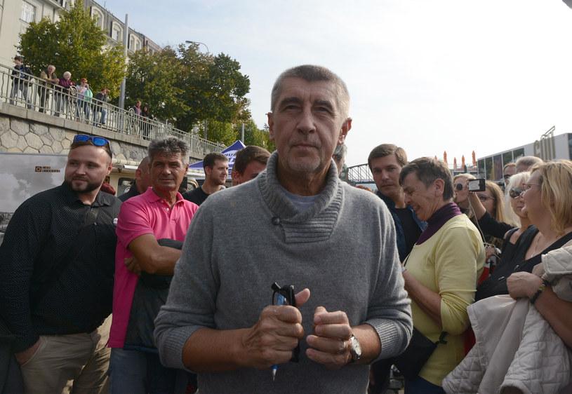 Andrej Babisz - przyszły premier Czech? /AFP