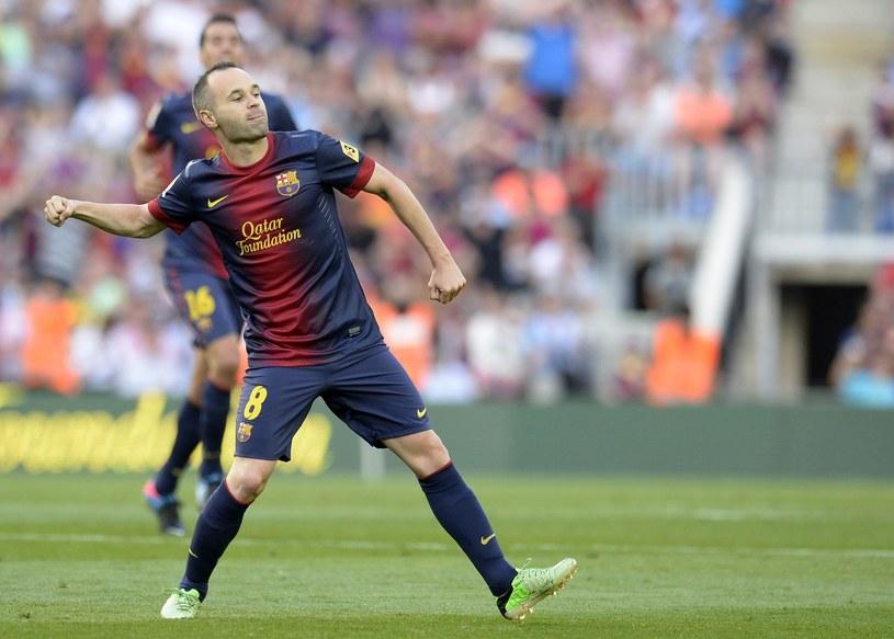 Andres Iniesta, jedna z gwiazd FC Barcelona /AFP