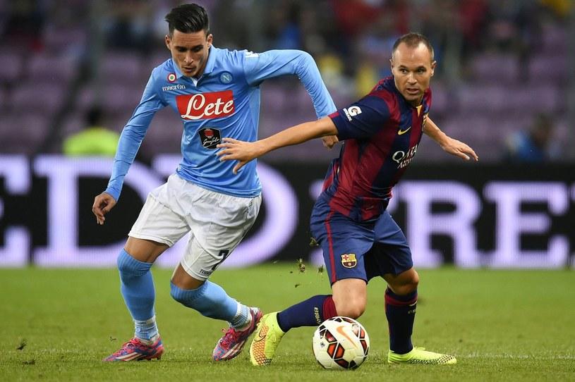 Andres Iniesta nie zagra w meczu z Macedonią /AFP