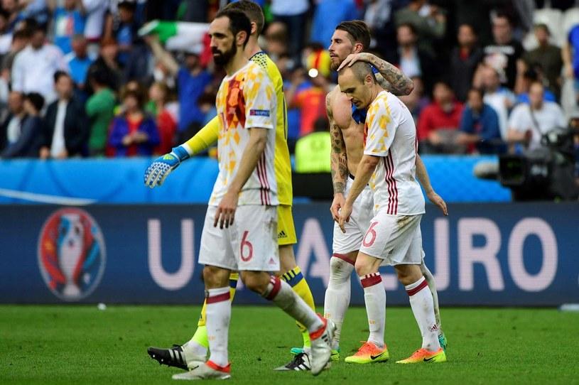 Andres Iniesta po spotkaniu z Włochami /AFP