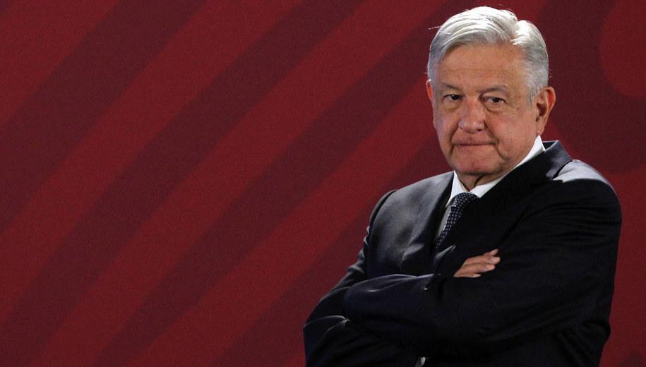 Andres Manuel Lopez Obrador /MARIO GUZMAN    /PAP/EPA