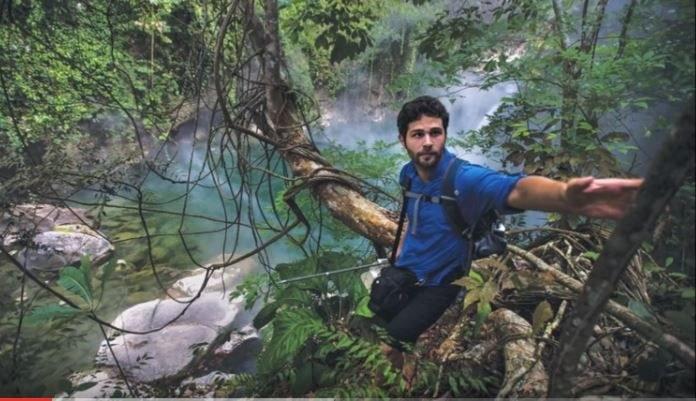 """Andres Ruzo - odkrywca """"wrzącej rzeki"""" /materiały prasowe"""