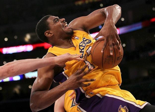 Andrew Bynum, koszykarz Los Angeles Lakers /AFP