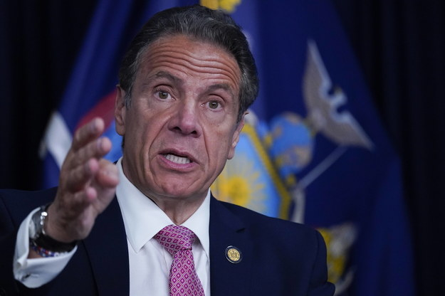 Andrew Cuomo /MARY ALTAFFER / POOL /PAP/EPA