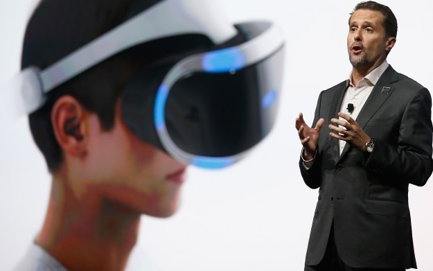 Andrew House - PlayStation VR /AFP
