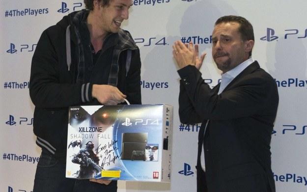 Andrew House - zdjęcie z premiery PlayStation 4 /AFP