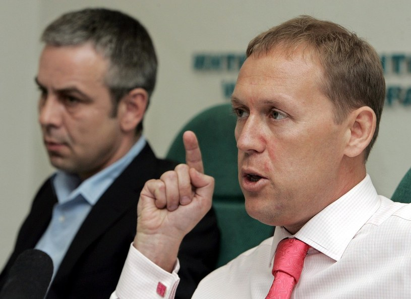 Andriej Ługowoj (z prawej) i Dmitrij Kowtun są podejrzani o otrucie Aleksandra Litwinienki /East News