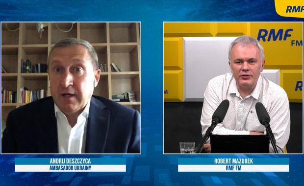 Andrij Deszczyca o sytuacji na ukraińsko-rosyjskiej granicy: Poważna, nieprzewidywalna