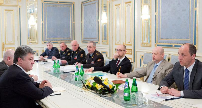 Andrij Parubij podał się do dymisji. Została ona przyjęta przez prezydenta Ukrainy. /AFP