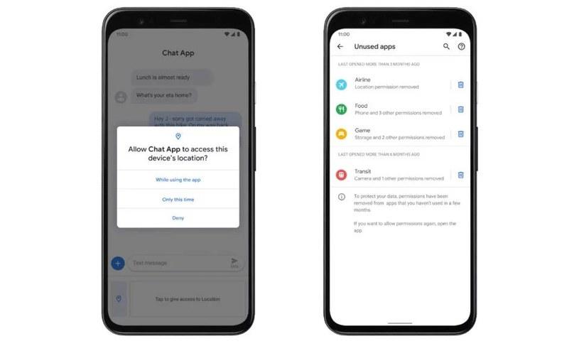 Android 11 to nowe funkcje z zakresu bezpieczeństwa /materiały prasowe