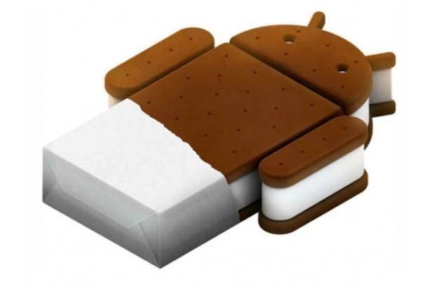 Android Ice Cream Sandwich - logo nowego systemu Android /materiały prasowe