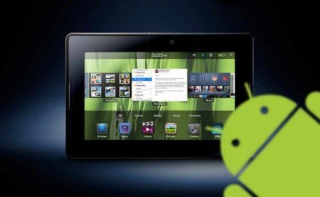 Android wkracza w świat BlackBerry /tabletowo.pl