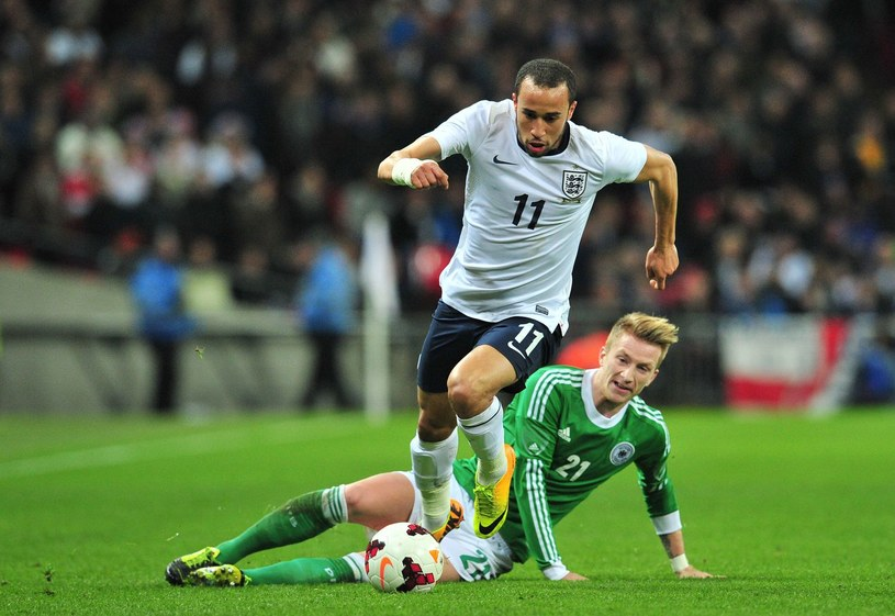 Andros Townsend w akcji /AFP