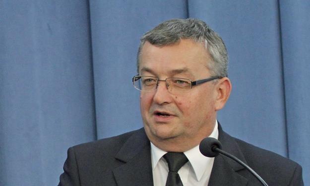 Andrzej Adamczyk, minister infrastruktury. Fot. Sławomir Kamiński Agencja Gazeta /