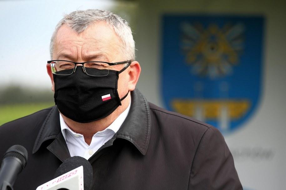 Andrzej Adamczyk, minister infrastruktury /Łukasz Gągulski /PAP