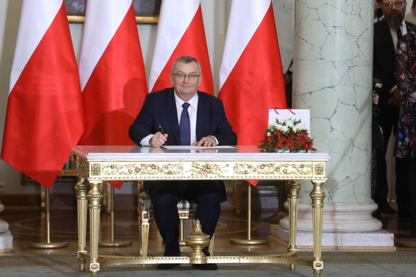 Andrzej Adamczyk, nowy minister infrastruktury /Radek Pietruszka /PAP