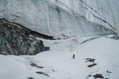 Andrzej Bargiel po zjeździe z K2