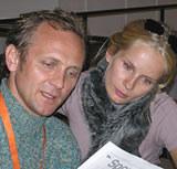Andrzej Chyra i Magdalena Cielecka, fot. INTERIA.PL /INTERIA.PL