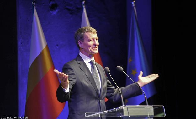 Andrzej Czerwiński (PO). Fot. M. Lasyk /Reporter