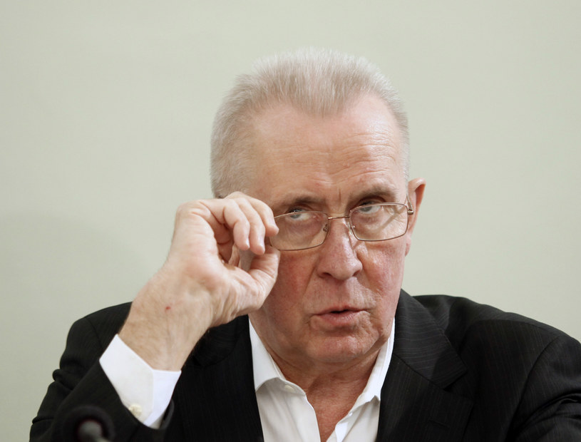 Andrzej Czuma, były minister sprawiedliwości i prokurator generalny w rządzie Donalda Tuska. /Jerzy Dudek /Agencja FORUM