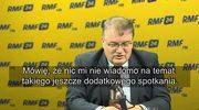 Andrzej Dera w Popołudniowej rozmowie w RMF FM: Być może będzie jeszcze ostateczne, zatwierdzające spotkanie ws. sądów