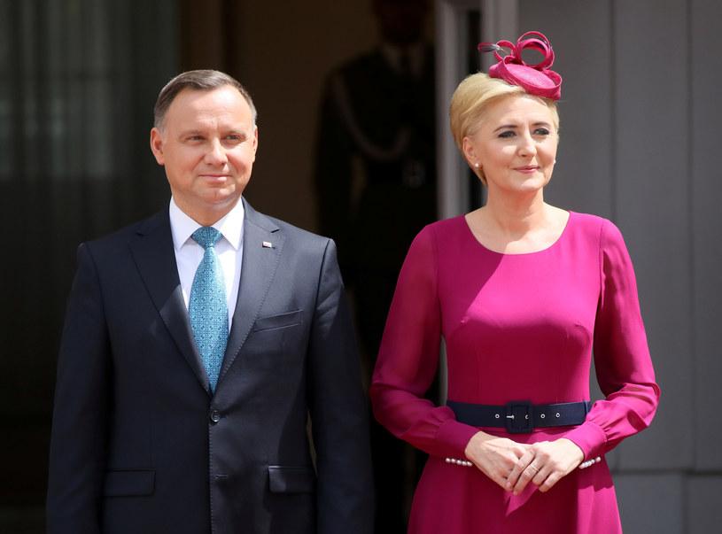 Andrzej Duda, Agata Duda /Rafal Oleksiewicz/REPORTER /Reporter